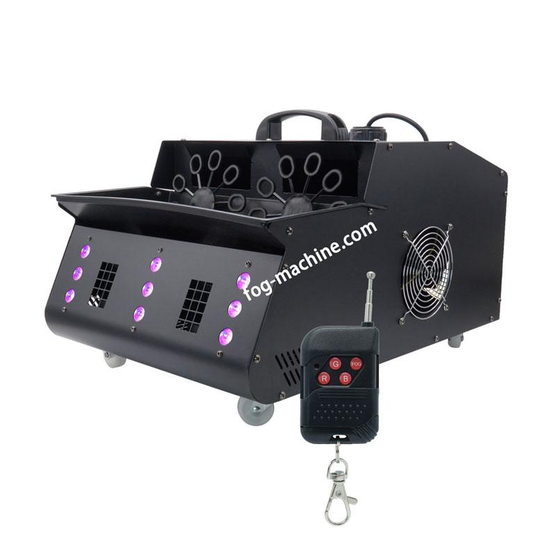 B05 LED 双轮烟泡机 LED烟雾泡泡一体机